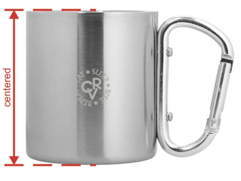 Stainless steel cup CvR