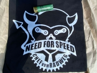 T-Shirt Need for Speed - Beschossen